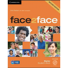 face2face (Second Edition) Starter Students's Book with DVD-ROm Workbook with Key комплект