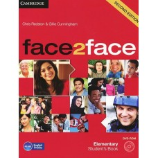 face2face (Second Edition) Elementary Students's Book with DVD-ROm Workbook with Key