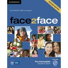 face2face (Second Edition) pre-intermediate Students's Book with DVD-ROm Workbook with Key комплект
