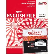 New English File Elementary Student's Book workbook Multi rom  DVD-rom mp3 CD-rom