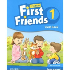 First Friends 1 2nd Edition Class Book + Multi ROM