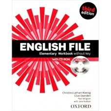 English File Third Edition Elementary Student's Book with iTutor (DVD-ROM) + Workbook with iChecker (CD-ROM)