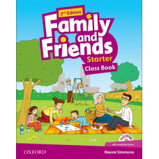 Family and Friends (Second Edition) Starter: Class Book +  MultiROM
