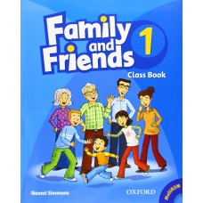 Family and Friends 1: Class Book +  MultiROM