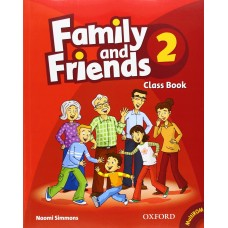 Family and Friends 2: Class Book +  MultiROM