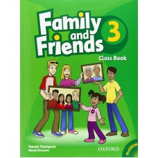 Family and Friends 3: Class Book +  MultiROM