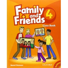 Family and Friends 4: Class Book +  MultiROM