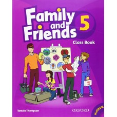 Family and Friends 5: Class Book +  MultiROM