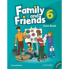 Family and Friends 6: Class Book +  MultiROM