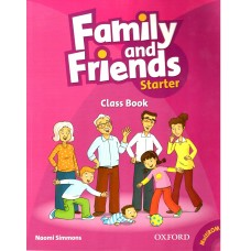 Family and Friends Starter: Class Book +  MultiROM