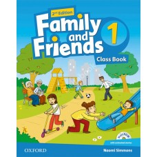 Family and Friends (Second Edition) 1: Class Book +  MultiROM