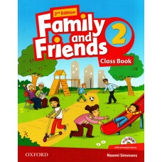 Family and Friends (Second Edition) 2: Class Book +  MultiROM
