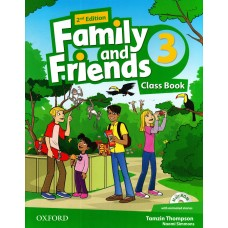Family and Friends (Second Edition) 3: Class Book +  MultiROM