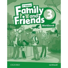 Family and Friends (Second Edition) 3: Workbook