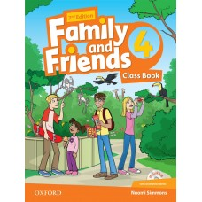 Family and Friends (Second Edition) 4: Class Book +  MultiROM