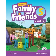 Family and Friends (Second Edition) 5: Class Book +  MultiROM
