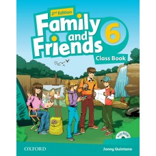 Family and Friends (Second Edition) 6: Class Book +  MultiROM