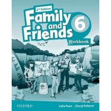 Family and Friends (Second Edition) 6: Workbook