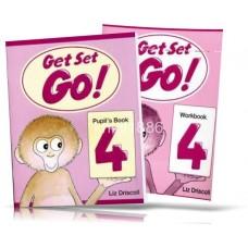 Get Set Go! 4 Pupil's + Workbook + CD