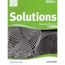 Solutions Elementary Workbook  (Second Edition)  + Audio CD
