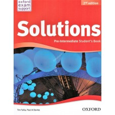 Solutions Pre-Intermediate Student's Book (Second Edition)