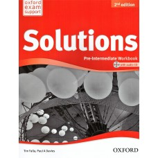 Solutions Pre-Intermediate Workbook (Second Edition) + Audio CD