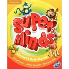 Super Minds Starter. Student's Book with DVD-ROM