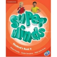 Super Minds Level 4. Student's Book with DVD-ROM