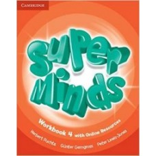 Super Minds. Level 4. Workbook with Online Resources