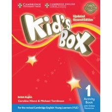 Kid's Box Updated 2Ed Activity Book 1 + Online Resources