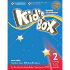 Kid's Box Updated 2Ed Activity Book 2 + Online Resources
