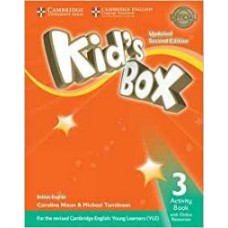 Kid's Box Updated 2Ed Activity Book 3 + Online Resources