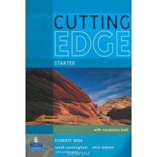 Cutting EDGE Starter Students Book + workbook..