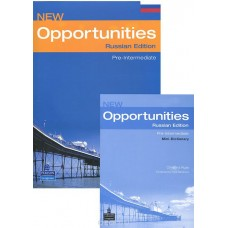 New Opportunities Pre-Intermediate Student's Book with Mini-Dictionary + CD-ROM