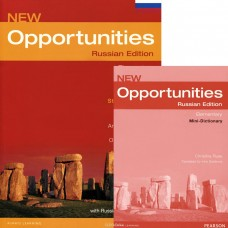 New Opportunities Elementary Student's Book with Mini-Dictionary + CD-ROM